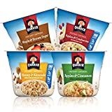 Quaker Instant Oatmeal Express Cups, Variety Pack, Breakfast Cereal (12 Count)