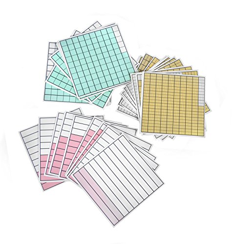 American Educational Decimal Squares One Set