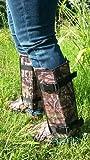 Crackshot Men's Snake Bite Proof Guardz Gaiters, Mossy Oak Break Up Country, Medium