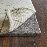 RUGPADUSA, Anchor Grip, 9'x12', 3/8' Thick, Felt + Rubber, Cushioned Non-Slip Rug Pad, Available in 3 Thicknesses, Many Custom Sizes, Safe for All Floors