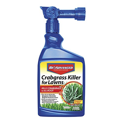 Bayer Advanced 704115 Crabgrass Killer for Lawns Ready-To-Spray, 32-Ounce