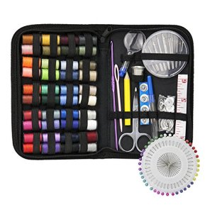 Sewing-Kit-DIY-Premium-Sewing-Supplies-Zipper-Portable-Mini-Sew-Kits-for-Traveler-Adults-Beginner-Emergency-Filled-with-MendingSewing-Needles-Scissors-Thimble-ThreadTape-Measure-Set-etc