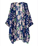 Product review for ACEFAST INC Vintage Women Girls Floral Print Long Loose Kimono Jacket Coat Cardigan Blouses