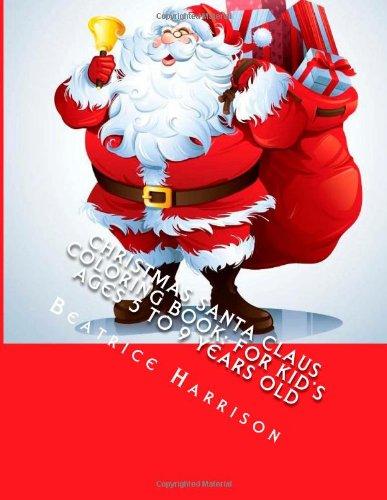 Christmas Santa Claus Coloring Book