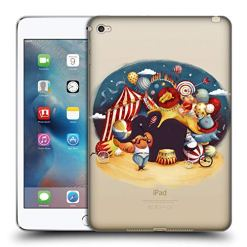 Official Oilikki Illusion Animal Characters Soft Gel Case Compatible for iPad mini 4