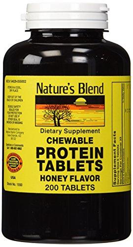 Natures Blend Protein Tablets Honey Flavor 200...