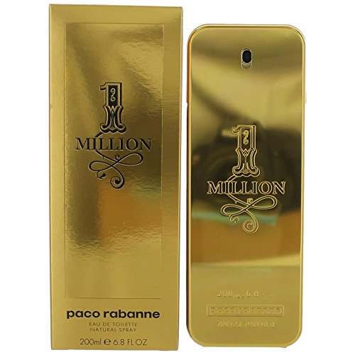 1 Million by Paco Rabanne Men's Eau De Toilette Spray 6.8 oz - 100% Authentic