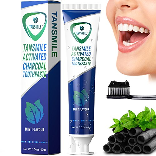 Charcoal Teeth Whitening Toothpaste Tansmile Natural Activated