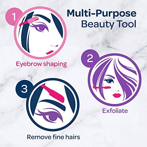 Schick Silk Touch-Up Multipurpose Exfoliating Dermaplaning Tool (9 count ) 9