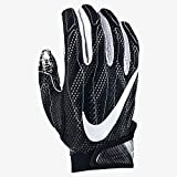 Nike Mens Superbad Football Glove Black Large