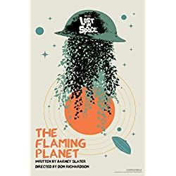 Lost In Space The Flaming Planet by Juan Ortiz Art Print Poster 12x18