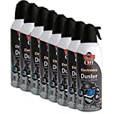 Falcon DPXL8 Brand New Air Computer TV Gas Compressed Cans Duster 10 oz - 8 Pack