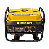 Firman P03601 4550/3650 Watt Recoil Start Gas Portable Generator cETL Certified, Black