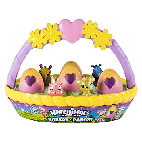 Hatchimals CollEGGtibles Basket with 6 Hatchimals CollEGGtibles! – LOW PRICE