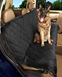 "Epica - Deluxe Pet Bench Car Seat Cover, Quilted, Water Resistant, and Machine Washable ,Black (Item# 82247)-56""x47"""