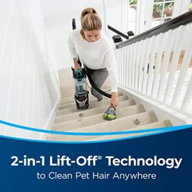 BISSELL-2998-MultiClean-Allergen-Lift-Off-Pet-Vacuum-with-HEPA-Sealed-System