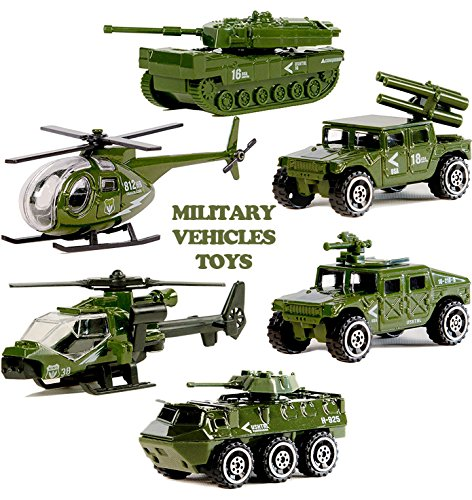Military Vehicle Toys For Boys : Military vehicles toys set pcs die cast metal army cars