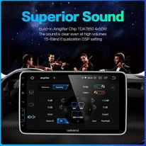 Dasaita-102-inch-Rotatable-Large-Screen-Double-Din-Android-100-Car-Stereo-Carplay-Android-Auto-for-any-vehicle-with-a-double-din-slot-Radio-With-GPS-Navigation-4G-Ram-64G-Rom-Built-in-DSP-Head-Unit