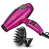 INFINITIPRO BY CONAIR 3Q Compact Electronic Brushless Motor Styling Tool/Hair Dryer, Pink