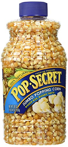 Pop Secret Popcorn 100% Natural Premium Jumbo Popping Corn (2 Pack) Large 30 oz
