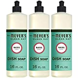 Mrs. Meyer´s Clean Day Dish Soap, Basil, 16 fl oz, 3 ct
