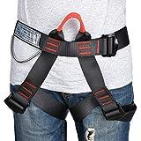 MokenEye Climbing Harness Professional Thicken Climbing Gear, Safe Seat Belts for Mountaineering Fire Rescuing Rock Climbing Rappelling Tree Climbing