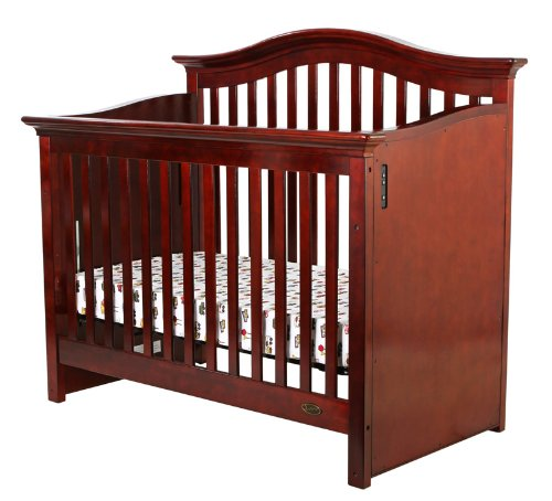 Dream On Me Electronic Wonder Crib II, Cherry