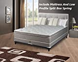 """Product review for Spinal Solution 10"""" Pillow/Euro Top Fully Assembled Orthopedic Mattress and 5"""" Box Spring, California King"""