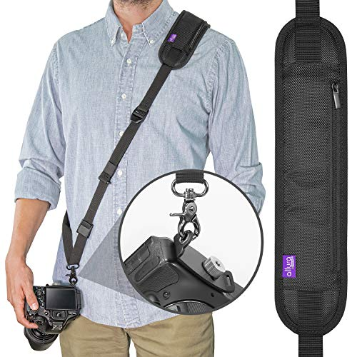 Altura Photo Rapid Fire Camera Neck Strap w/Quick Release and Safety Tether