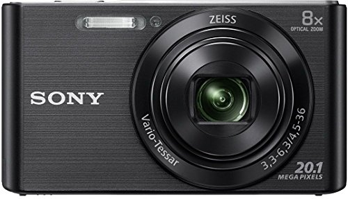 Sony DSC W830 Cyber-Shot 20.1 MP Point and Shoot Camera (Black) with 8X Optical Zoom, Free Memory Card and Camera Case Specifications  Features, Reviews And Price in India