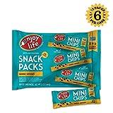Enjoy Life Semi-Sweet, Dairy Free, Nut Free, Vegan Chocolate Chip Snack Packs, 6 Count