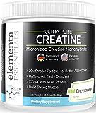 Elementa Essentials Creapure Micronized Creatine Monohydrate Powder 300 Grams | Pharmaceutical Grade Muscle Blast-Build and retain Muscle| Grow Stronger | Vegan Non-GMO