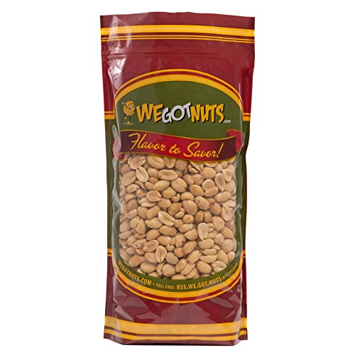 We Got Nuts Peanuts Roasted Unsalted, 5 Lb