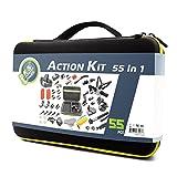 Dekasi Accessories Kit Case for GoPro Hero 6/5/4/3/SJ4000/SJ5000/SJ6000 (55-in-1)