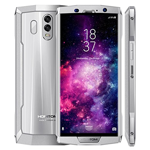 HOMTOM HT70 4GB+64GB 10000mAh Battery 6.0 inch Android 7.0 MTK6750T Octa Core up to 1.5GHz GSM & WCDMA & FDD-LTE (Silver)