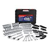 WORKPRO Socket Set, 230-piece Mechanics Tool Kit in Hard Case