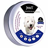 NIKE Jmxu's Flea & Tick Prevention Dogs Cats, Flea Tick collar Dogs Cats, 18 inches, fits small...