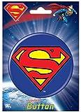 Ata-Boy DC Comics Superman Logo 3-inch Big Collectible Button