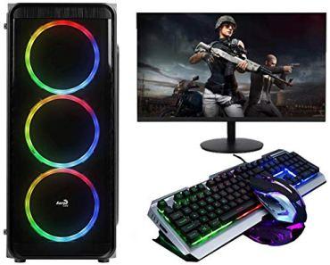 No Doubt Core i7-3770 (16 GB RAM/1 TB Hard Disk/240 GB SSD Capacity/Windows 10 Pro (64-bit)/2 GB Graphics Memory) Mini Tower (16 GB DDR3/1 TB/Free DOS/2 GB/19.5 Inch LED Screen Gaming Keyboard-Mouse)