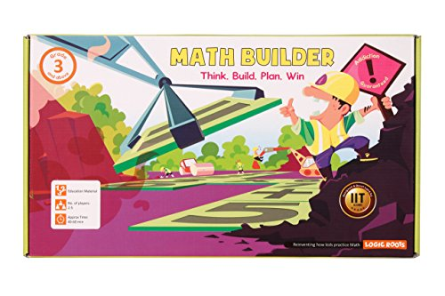 Math Builder Number Scrabble Junior Board Game With Equations and Arithmetic Skills Stem Toy Math Manipulative
