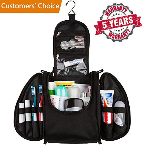 42 Travel Hanging Toiletry Bag – Large Kit Organizer for Men & Women –...