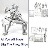 Uranny Body Kun DX Set Male & Female Action Figure Model Set for SHF Body Kun Doll PVC Body-Chan DX Set 2.0 (1 Set-Action Figure Model)