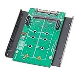 Syba SY-ADA40102 3.5' SATAIII to M.2 SSD RAID Adapter Green