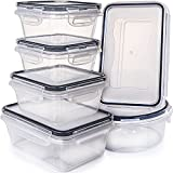 Airtight Food Storage Containers with Lids - Plastic Food Containers with Lids - Plastic Containers with Lids - Lunch Containers Kitchen Storage Containers with Lids BPA Free Food container Fullstar