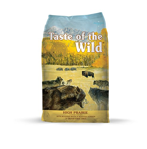 Taste of the Wild Grain Free High Protein Real Meat Recipe High Prairie Premium Dry Dog Food