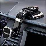 Phone Holder for Car, Magnetic Car Phone Mount | Dashboard Car Phone Holder Compatible with iPhone 11Pro,Xr,Xs,XS MAX,XR,X,8,8Plus,7,7Plus,6,6Plus,Galaxy Note S8 S9 S10 & All Smartphones by Bestrix