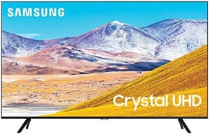 SAMSUNG 43-inch Class Crystal UHD TU-8000 Series – 4K UHD HDR Smart TV with Alexa Built-in (UN43TU8000FXZA, 2020 Model)