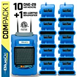 BlueDri COMPACK 1 | 1 BD-LGR75 Commercial Dehumidifiers 10 One-29 Air Mover Water Damage Equipment Blue