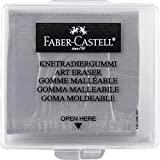 Faber-Castell 127220 Kneaded Eraser with Case, Grey