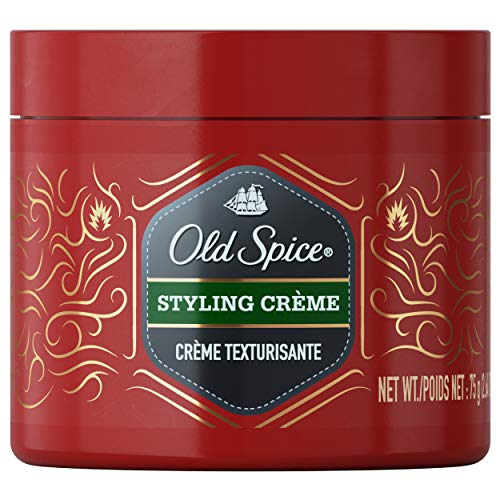 Old Spice, Styling Cream for Men, Hair Treatment, 2.64 oz, Twin Pack